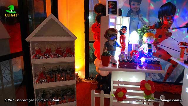 Decoração de aniversário Ladybug - festa infantil