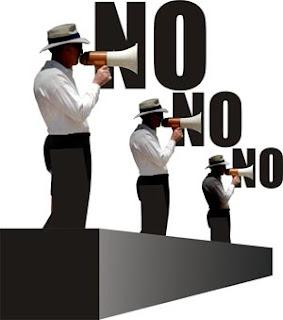 Derecho a decir no.
