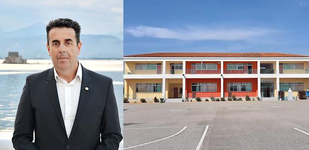 Δ. Κωστούρος: Δημοπρατείται η προσθήκη αιθουσών στο Δημοτικό Σχολείο Αγίας Τριάδας