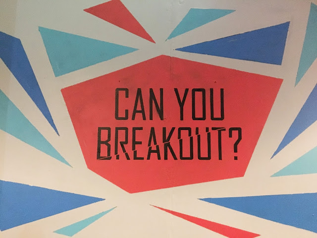 Breakout Manchester Sign