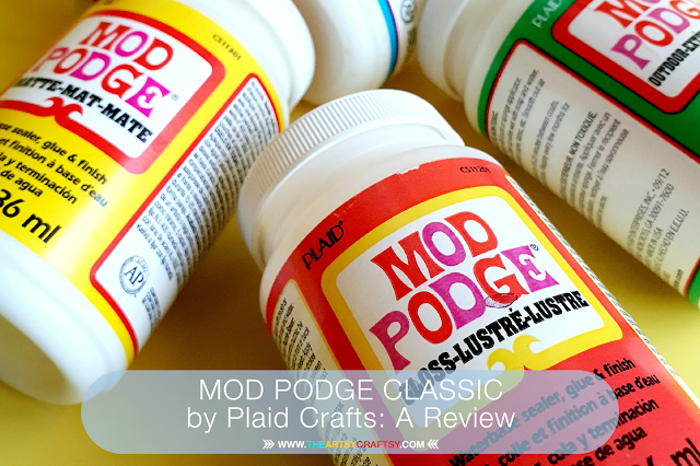 MOD PODGE CLASSIC by Plaid Crafts: A Review