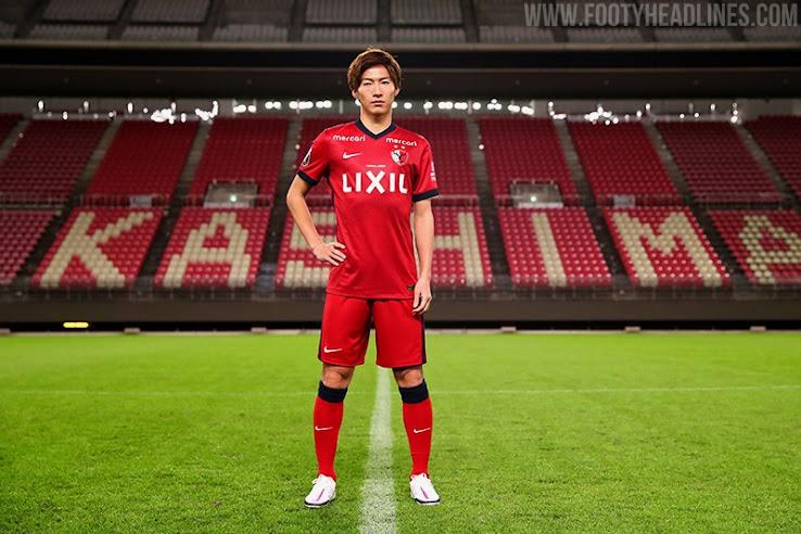 Kashima Antlers 2021 Home & Away Kits Revealed - Footy Headlines