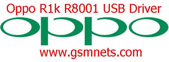 Oppo R1k R8001 USB Driver Download