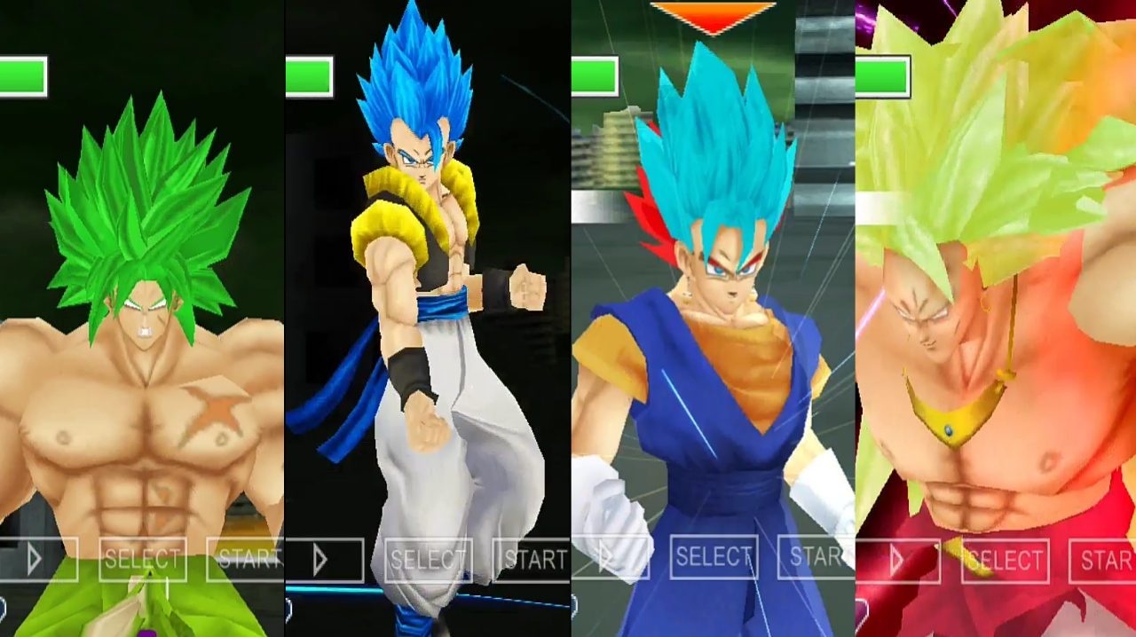 Dragon Ball Super Broly Vs Gogeta