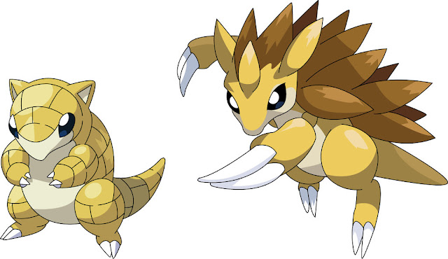 Sandshrew e Sandslash