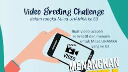 Meriahkan Milad Uhamka Ke-63 dengan Video Greeting Challenge untuk Mahasiswa UHAMKA