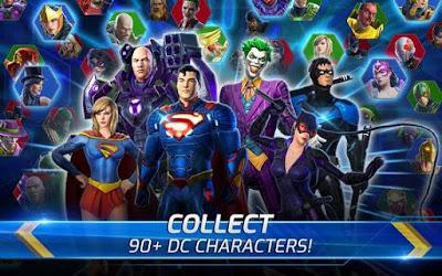 تحميل لعبة الأبطال الخارقين DC Legends للاندرويد والايفون 2020