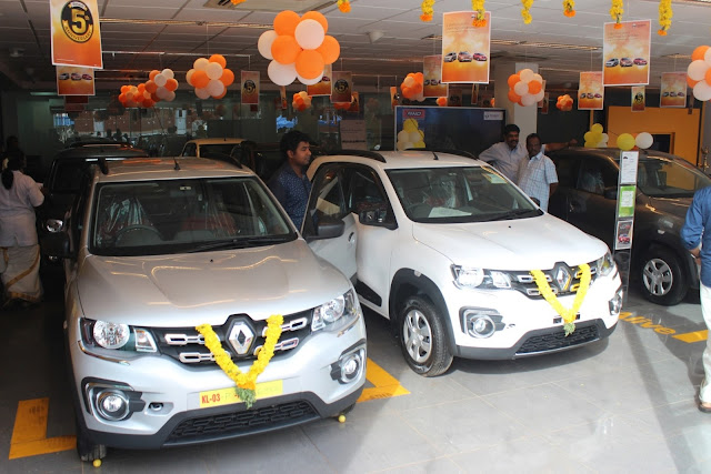 Renault India delivered 400 vehicles to its customers in Kerala on Chingam-