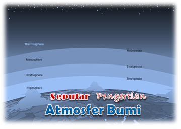 Seputar Pengertian Atmosfer Bumi