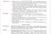 Pelantikan Tak Pasti Samsul Rizal terima SK PJ Rektor Unsyiah.