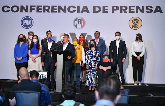 México votó por tener pesos y contrapesos: Alejandro Moreno
