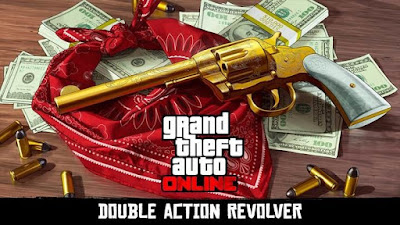 Complete the treasure hunt via GTA Online and unlock the dual-action pistol for both games, At a crossover event to promote Red Dead Redemption 2, Rockstar presented a GTA Online