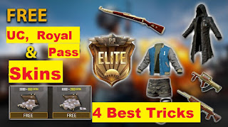 Best Tricks to Get Free Royal Pass and UC Cash
