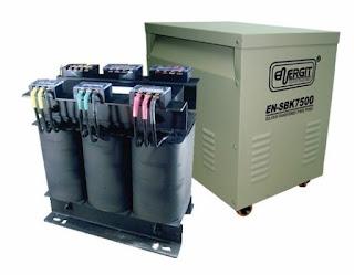 Transformador trifásico 380vac-220vac 7500w