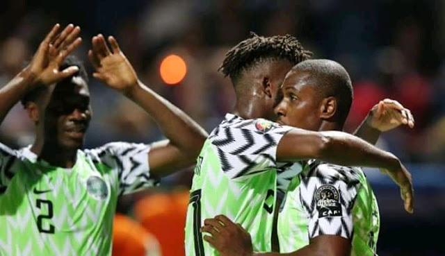 نيجيريا تفوز علي غينيا في كأس الأمم الأفريقية وتتصدر مجموعتها