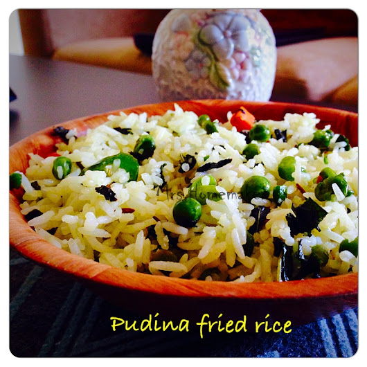 Pudina/Mint Fried Rice