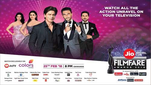 Filmfare Awards 25th February 2018 Full 480p and 720p HDTVRip