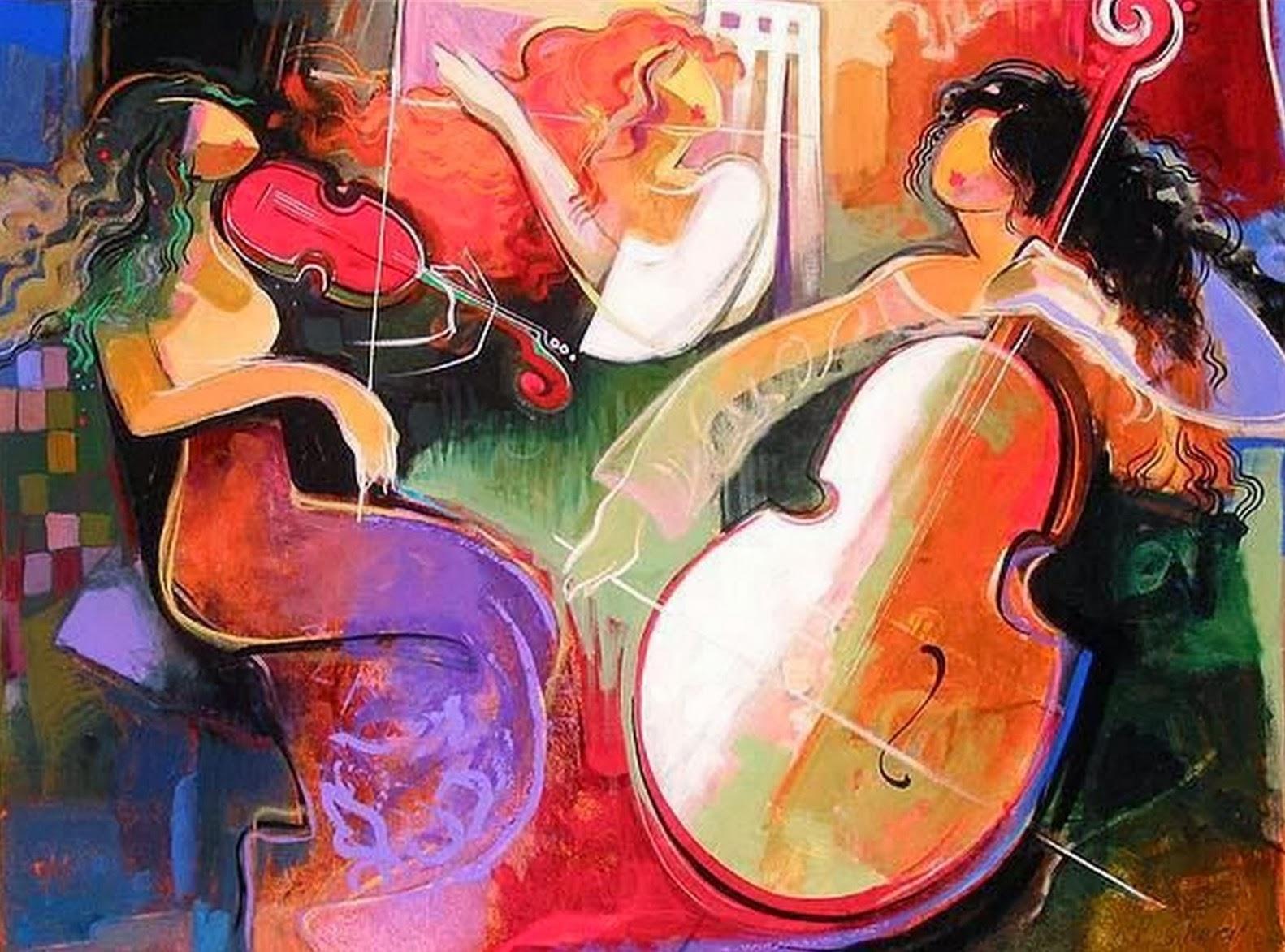 Pinturas de Irene Sheri