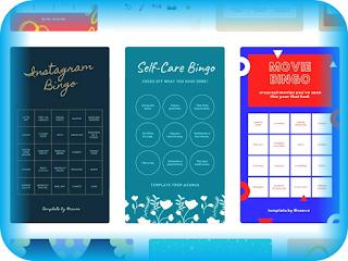 Cara Membuat Template Bingo Instagram Sendiri