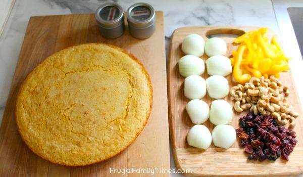 cornbread dressing ingredients