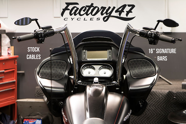 factory47 any 2015 18 road glide can use stock cables. Black Bedroom Furniture Sets. Home Design Ideas