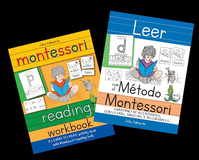 montessori reading workbook