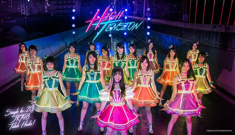 JKT48 - High Tension single detail cd dvd tracklist member listlyrics watch official mv youtube