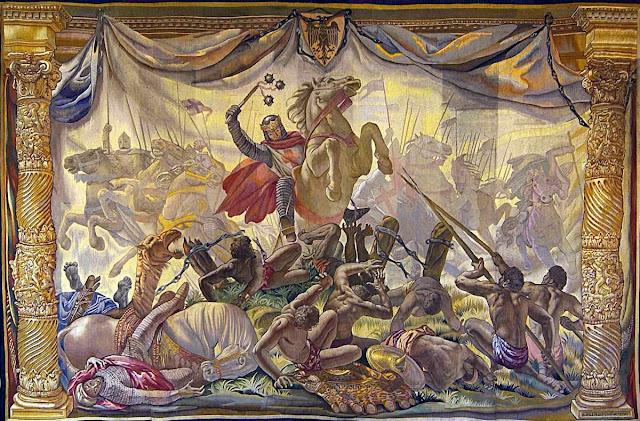 O rei Sancho da Navarra quebrou o cerne dos fanáticos islâmicos