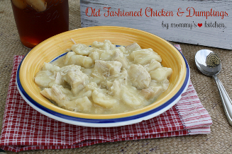 Homemade Chicken & Dumplings
