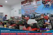 Ratusan Prajurit TNI Gelar Aksi Kemanusiaan Bantu Ketersediaan Darah di PMI Jember