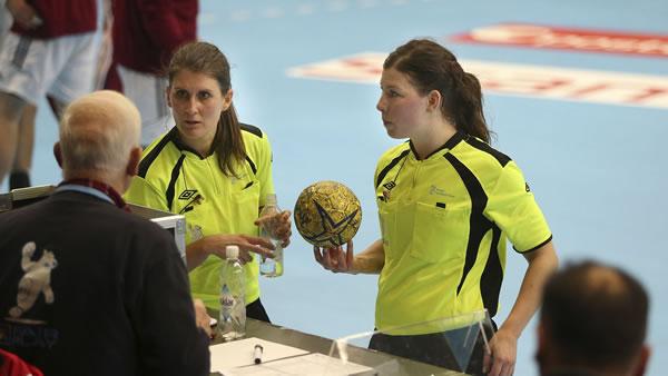 Guro Røen y Kjersti Arntsen Handball - Super Globe