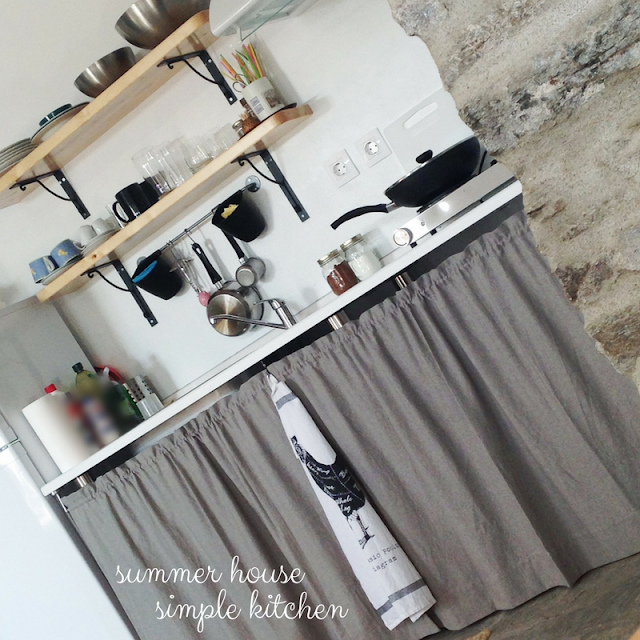 small open kitchen • the round button blog