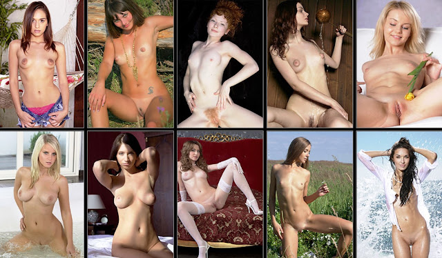 Dreamy Nude Teen: Beautiful Nude Erotica