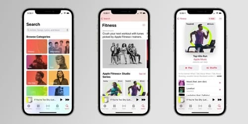 Apple encourages fitness + integration with Apple Music