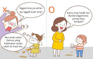 Jangan Menyalahkan Kepribadian Anak