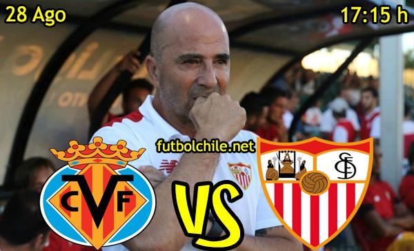 Ver stream hd youtube facebook movil android ios iphone table ipad windows mac linux resultado en vivo, online: Villarreal vs Sevilla