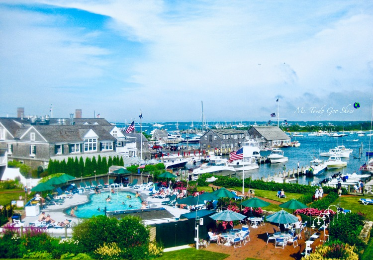 Harborside Inn in Edgartown, Martha's Vineyard is a great place to stay. | Ms. Toody Goo Shoes