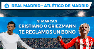 Paston Promoción Liga Santander: Real Madrid vs Atlético 8 abril