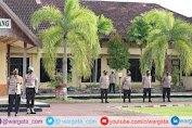 Pimpin Apel Pagi, Kapolres Pinrang Sampaikan Commander Wish Kapolri