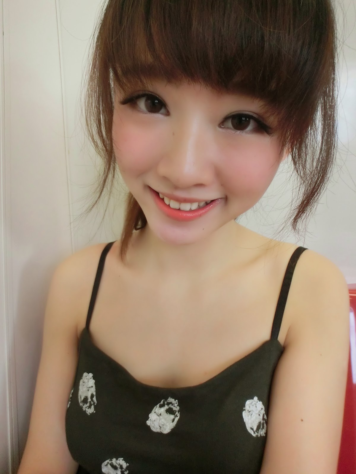Innocent asian teen