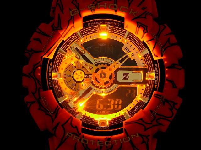 G-SHOCK de CASIO lanza el nuevo modelo  edición especial de Dragon Ball Z