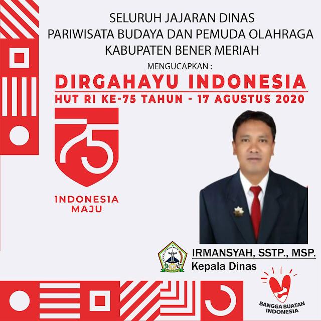 IRMANSYAH, SSTP., MSP. - Kepala Dinas by LensaHukum.co.id