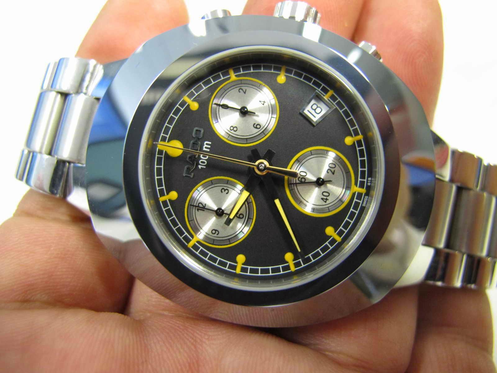 Cocok untuk Anda yang sedang mencari jam tangan Chronograph Quartz Swiss  made... RADO CHRONOGRAPH. 4d95963392