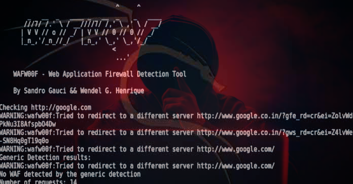Wafw00f : Identify & Fingerprint Web Application Firewall
