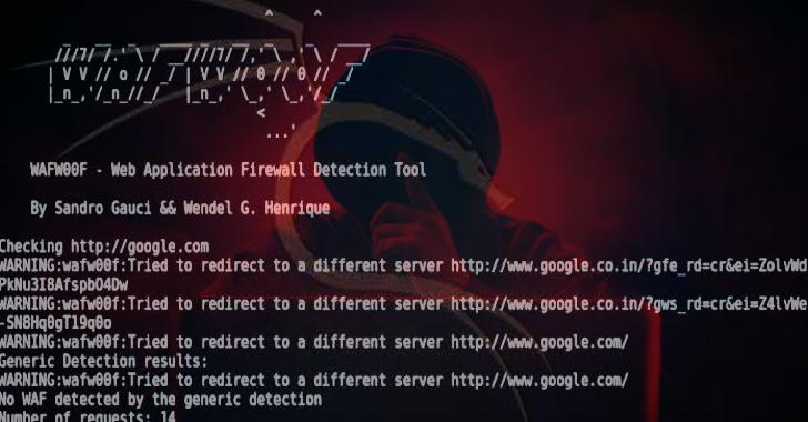 Wafw00f : Identify & Fingerprint Web Application Firewall
