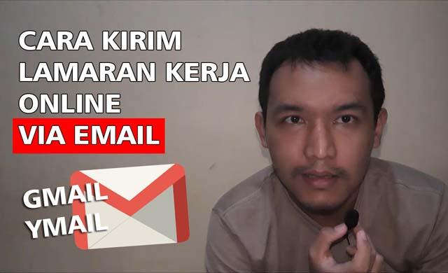 cara kirim lamaran kerja online email
