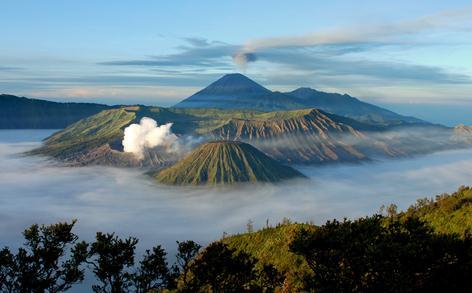 objek wisata Gunung bromo