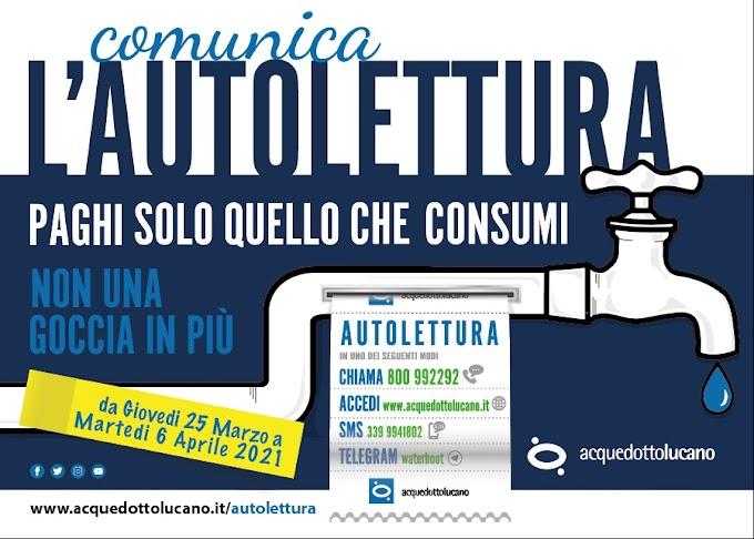 Al: la nuova campagna per l'autolettura dei consumi idrici