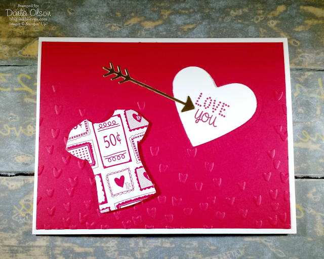 Valentine's Day card shared by inkheaven created with new 2017 Occassions Catalog product available soon at www.darlaolson.stampinup.net