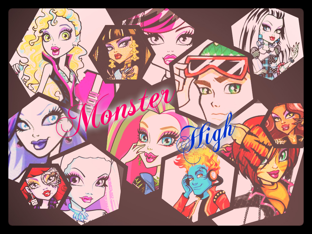 Fondos De Pantalla De Monster High: Fondo De Pantalla Monster High